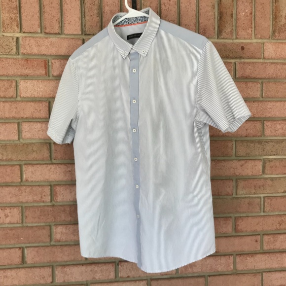 polo villae Shirts   Striped Short Sleeve Shirt   Poshmark adc68c4f8f